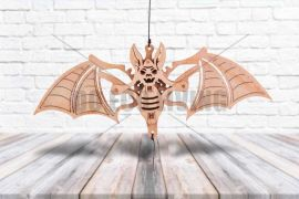 Halloween Woodik Bat - 3D Mechanical Puzzle WOOD TRICK