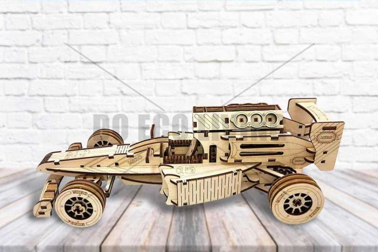 Bolid - 3D Mechanical Puzzle MIKO - photo