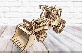 Bulldozer - 3D Mechanical Puzzle MIKO