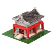 Chinese House Natural Ceramic Building Bricks WISE ELK