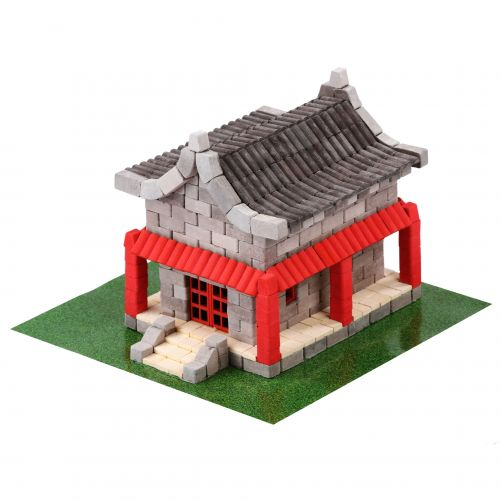 Chinese House Natural Ceramic Building Bricks WISE ELK - photo