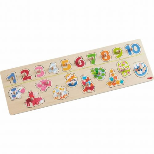Clutching Puzzle Animals by Number - HABA - photo