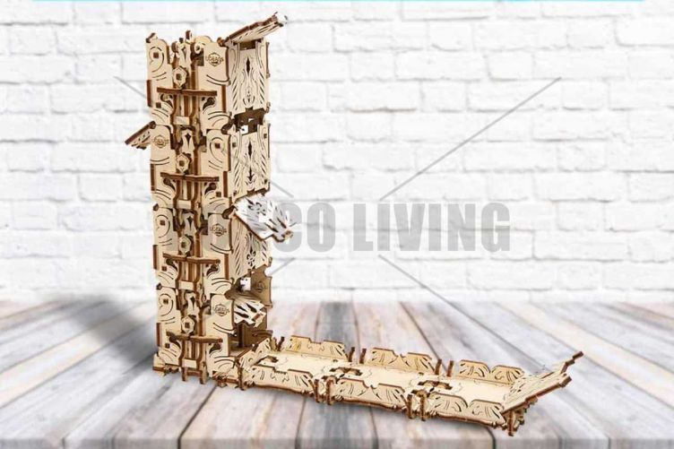 Modular Dice Tower - 3D Mechanical Puzzle UGEARS - photo