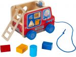 Fire Brigade Pulling Figure and Shape Sorter - HABA - photo 2