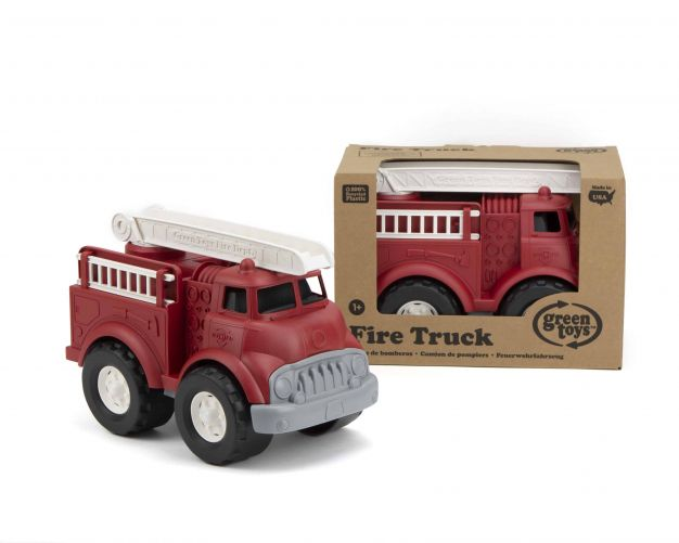 Fire Truck Red – Green Toys - photo