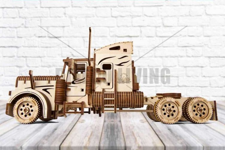 Heavy Boy Truck VM-03 - 3D Mechanical Puzzle UGEARS - photo
