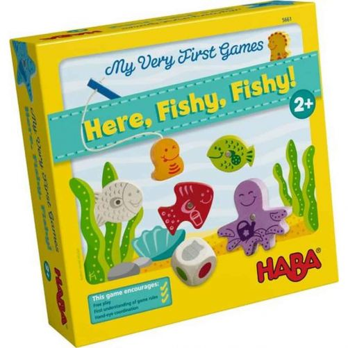 My Very First Games - Here, Fishy, Fishy! – HABA Board Game - photo