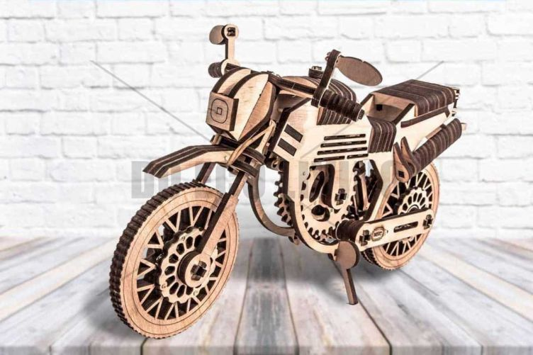Motorbike - 3D Mechanical Puzzle MIKO - photo