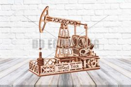 Oil Derrick Rig - 3D Mechanical Puzzle WOOD TRICK