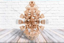 Pendulum Wall Clock - 3D Mechanical Puzzle WOOD TRICK