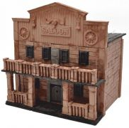 Saloon Natural Ceramic Building Bricks Set WISE ELK