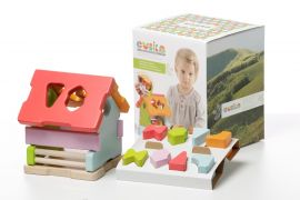 "House Sorter ""Find the shape LS-1"" – Wise Elk Cubika"