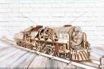 V-Express Steam Train with Tender - 3D Mechanical Puzzle UGEARS - photo 1