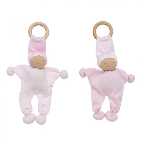 Baby Buddy Teething Toy 2 Pack - Pink – UNDER THE NILE - photo