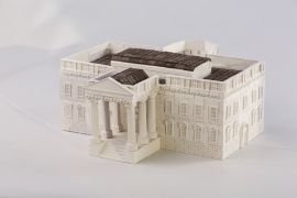 White House Natural Ceramic Building Bricks WISE ELK