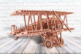 Bi-Plane - 3D Mechanical Puzzle WOOD TRICK