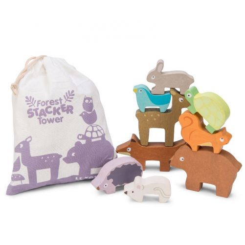 Forest Stacker and Bag – Le Toy Van - photo