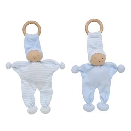 Baby Buddy Teething Toy 2 Pack - Blue – UNDER THE NILE - photo