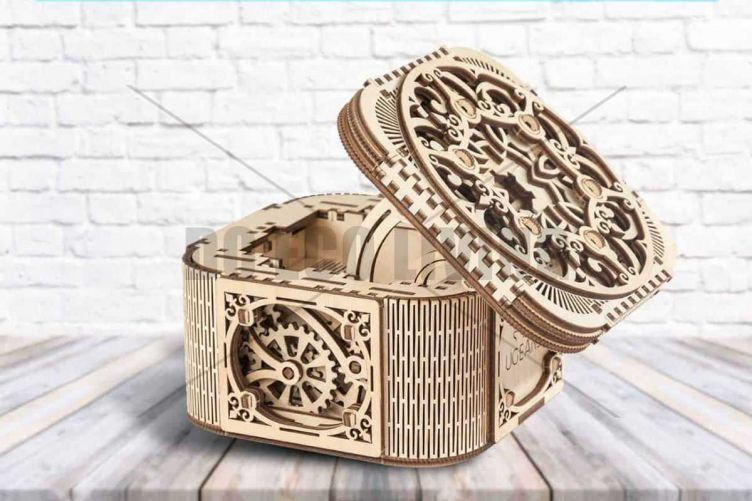 Treasure Box - 3D Mechanical Puzzle UGEARS - photo