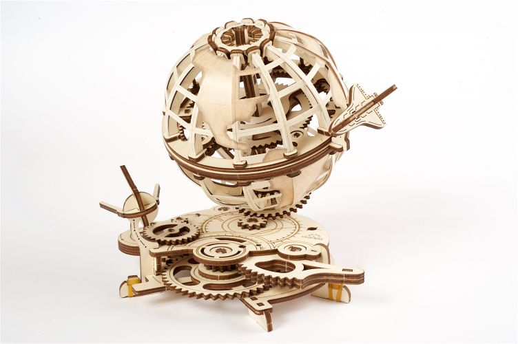 Globus - 3D Mechanical Puzzle UGEARS - photo